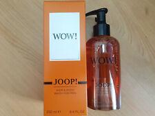 Joop! Wow! Shower Gel for Men, Body Wash, Luxury Soap, Shampoo, 250 ml