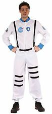 Astronaut Spaceman NASA White Space Suit Adult New OS Fancy Dress Costume 36-40""
