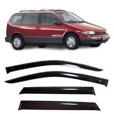For Nissan Quest (V40) 1993–1998 Window Visors Sun Rain Guard Vent Deflectors