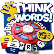 Ideal Think Words Family Game Quick Thinking Letter Pressing Game