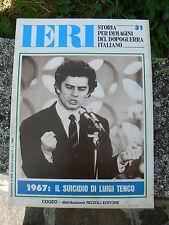 NUOVO AYER HISTORIAL DE LOS IMÁGENES PERÍODO POSGUERRA ITALIANO NÚM 31 COGED