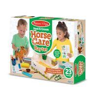 Melissa & Doug 8537 Feed & Groom Horse Care Play set #8537
