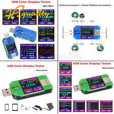 UM25C/24C UM25/24 USB 2.0 Type-C colore display LCD Tester Tensione Corrente Meter
