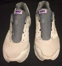 Nike Downshifter 6 Running Shoes White Size 8,5 Great Condition