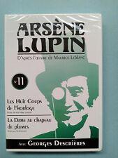 Arsène Lupin DVD N°11 - Les Huit Coups de l'horloge, La dame au chapeau/ DVD