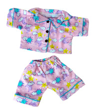"Yellow Chicken PJs w//Slippers Teddy Bear Clothes Fits Most 8/""-10/"" Build-A-Bear B"