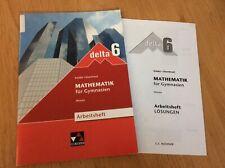 Delta Mathematik 6 Klasse Arbeitsheft Gymnasium Lösungen