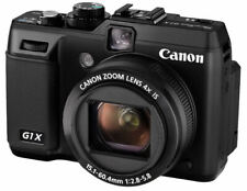 "Canon Powershot G1X AS NEW! 14.3MP 4xZoom 3""LCD Novice or Skilled users +accesry"