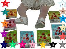 Strumpfhose Baby Mädchen Taufe Balet 17 Farbe Leicht-Transparent 80/86-152 Biedr