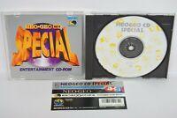 Neo Geo CD NEO GEO CD SPECIAL with SPINE * Neogeo SNK Japan nc