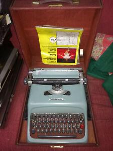 macchina da scrivere vintage olivetti studio 44 con valigetta