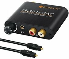 Neoteck 192kHz Aluminum DAC Converter Digital Optical Coaxial Toslink to Analog