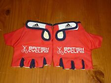 ADIDAS BRITISH CYCLING TRACK MITTS BRAND NEW IN BAG SIZE MEDIUM