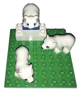 Lego duplo : lot Animaux Ours Blancs Zoo lego duplo