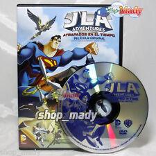 Justice League Adventures: Atrapados en el Tiempo DVD Español Latino R1 y 4 NTSC