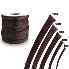 Flexibility Braided Sleeving Wire Cover Cable Hose Cover Tube Anti Friction Dust