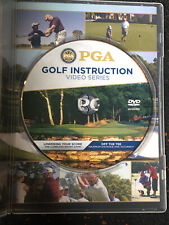 PGA Golf Instruction Video Series Used DVD