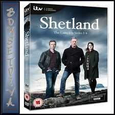 SHETLAND - COMPLETE SERIES 1 2 3 & 4   **BRAND NEW DVD BOXSET**