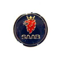AUTO Pin / Pins - SAAB RUNDLOGO glasiert,dezent & edel [1376]