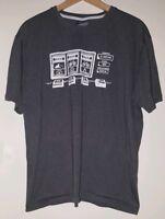 "Mens T-Shirt L 42"" Cycle Apparel Grey<MJ3153z"