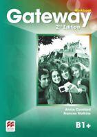 Gateway 2nd edition B1+ Workbook by Annie Cornford 9780230470941 | Brand New