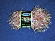 SENSATIONS MONACO Eyelash Yarn - Orange Multi - New with Label