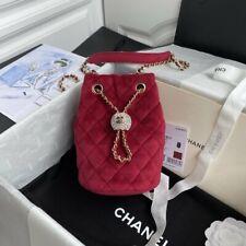 Chanel Pink Bucket Bag Drawstring Bag
