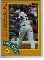 Manny Machado 2019 Topps 1984 Topps All-Stars Oversize 5x7 Gold #84AS-MM /10 Pad