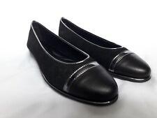 The FLEXX BNIB womens black shoes size uk 3 EU 35 ballet leather flats 39.99p