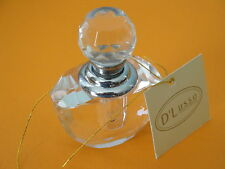 D'Lusso Collection Perfume Bottle In Satin Lined Heart Gift Box