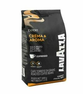 6kg BULK BUY- LAVAZZA CREMA AROMA EXPERT COFFEE BEANS (6 x 1kG)