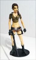 "NECA 2006 Tomb Raider Stage 1 Lara Croft 7"" Action Figure Player Select Loose"
