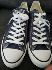 Brand new Converse All Stars Low Top Navy Blue, Size 9.5 (Mens), 11 (Womans)