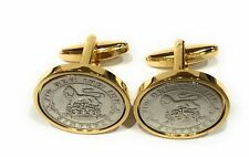 Premium   1927 Lucky sixpence cufflinks  for a 92nd Birthday   cufflinks