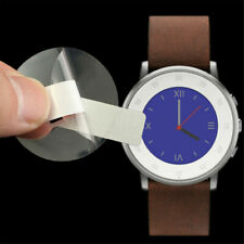 4pcs Anti-Scratch Clear Screen Protector Film for Pebble Time Round Smart Watch