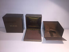 GUCCI Jewelry - Case Box Estuche - For 1 Necklace - Para 1 Collar - Brown Marrón