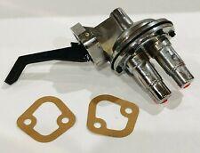 Mopar Dodge Plymouth 273 318 340 360 LA V8 Mechanical Chrome Fuel Pump 80GPH
