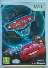 Jeu Wii CARS 2 Disney Pixar / Flash Mac Queen /  PAL VF Compatible Wii U / TBE