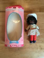 "Fisher Price Kids Vintage 1978 Billie Doll 8"" African American W/Box Usa"