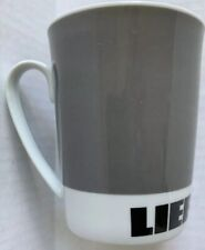 LIEBHERR CONSTRUCTION MACHINERY COMPANY PORCELAIN COFFEE MUG, TEA CUP, NEW NOS
