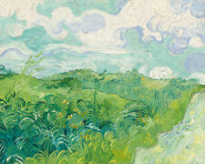 Green Impressionism Art Prints