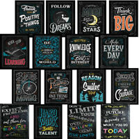 8x12Inch Motivational Inspirational Quotes Posters for Teachers Classroom