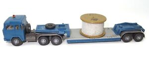1:87 WIKING VINTAGE SCANIA ARTIC TRUCK WITH CABLE DRUM LOAD - EXC.