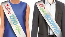 COPPIA FASCIA DELL' ANNIVERSARIO - gadget idea regalo festa Matrimonio