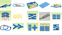 Tomy Plarail Trackmaster Plastic Railway Train Tracks Parts Accessories