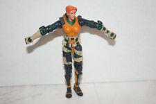 G.I. JOE COBRA AGENT SCARLETT v1 action figure 2002