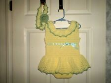 Handmade Lemon and Lime Sun Suit Set for 12 to 18 months