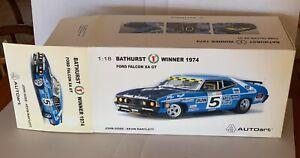 BIANTE FORD FALCON XA GT Bathurst Win 1974 Goss/Bartlett 1:18 EMPTY BOX +Cert.
