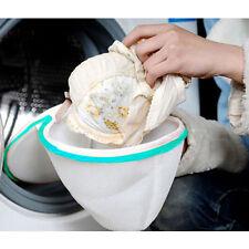 2 pcs Laundry Saver Washing Machine Bra Underwear Lingerie Mesh Wash Basket Bag