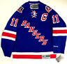 MARK MESSIER NEW YORK RANGERS 1994 CUP MESSIER PATCH REEBOK NHL PREMIER JERSEY